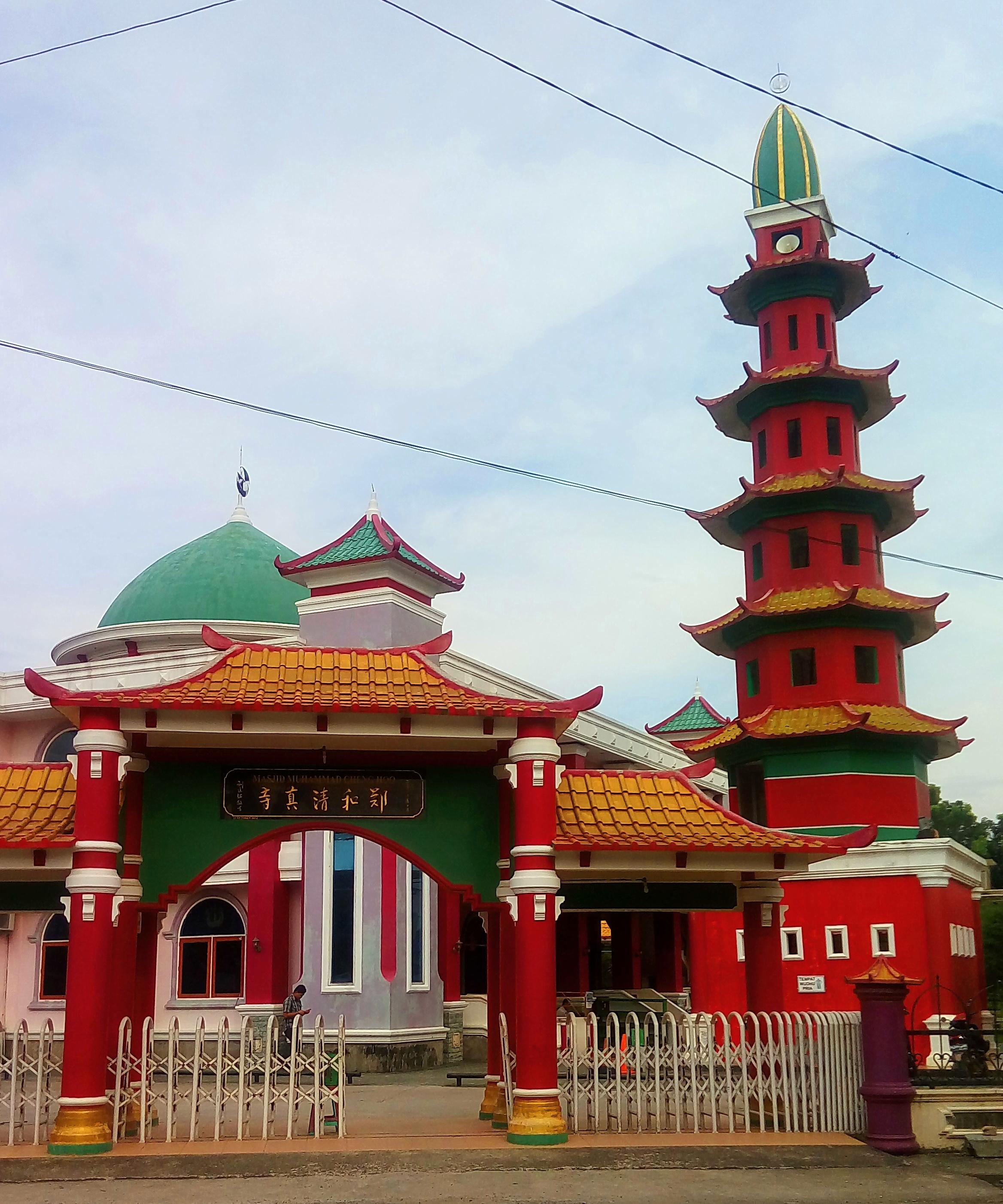 Masjid Muhammad Cheng Ho Palembang 1 Akulturasi Tiga Kebudayaan